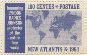 New Atlantis stamp  12011