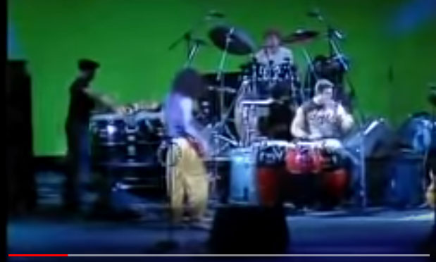 Santana 2 Primera Invasion Open Invitation Live In Berlin 1987