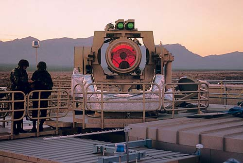 MTHEL (THEL) - Mobile Tactical High Energy Laser Weapon System