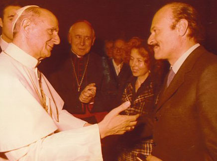 Calvi Meeting with Pope Paul VI.